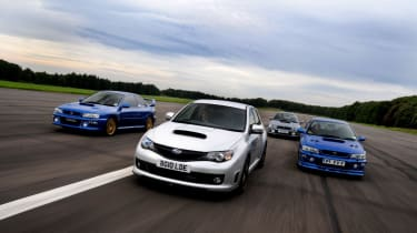Subaru Impreza Cosworth header