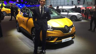 Renault Scenic - James Batchelor