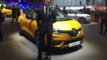 Renault Scenic - James Batchelor