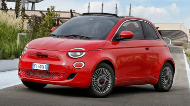 Fiat 500(RED) - front static