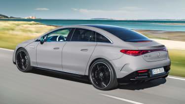Mercedes EQE - rear