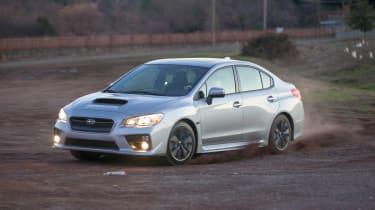 Subaru WRX 2014 front action