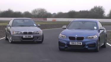 BMW M235i vs M3 CSL