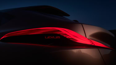 Lexus LF-1 Limitless - rear lights dark