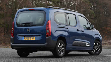 citroen berlingo xl static rear