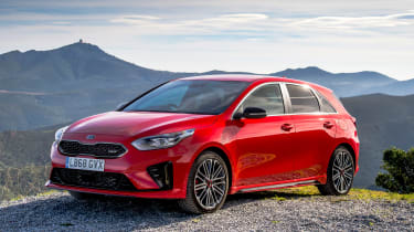 Kia Ceed GT - front static
