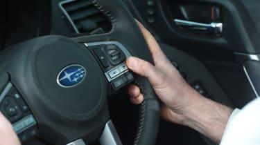 Subaru Forester steering wheel