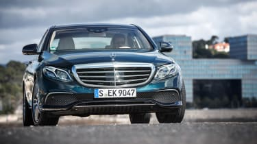 Mercedes E-Class - full front driving
