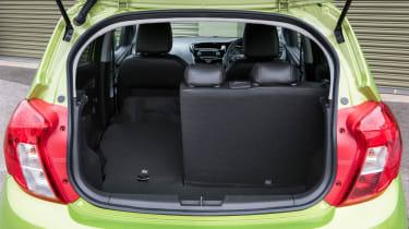 Vauxhall Viva 2015 - boot seat down