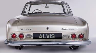 Alvis Graber Super Coupe - full rear