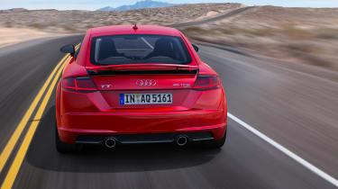 Audi TT - full rear
