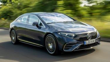 Mercedes EQS - longest range electric cars