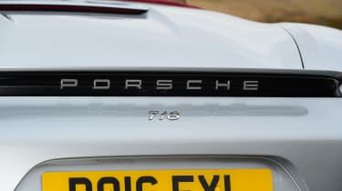 New Porsche 718 Boxster 2016 - spoiler
