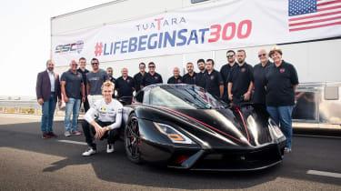 SSC Tuatara - record bid