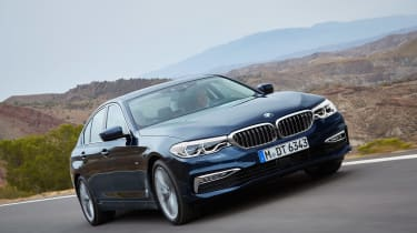 BMW 5 Series front tracking
