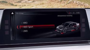 BMW M5 leaked - infotainment