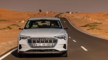 Audi e-tron head on