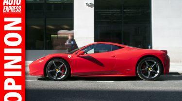 Opinion London super car 'asbos'