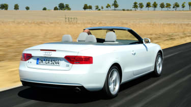 Audi A5 Cabriolet rear tracking