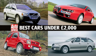 Best cars for under £2,000