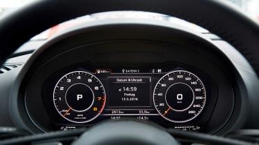 Audi A3 Sportback - dials