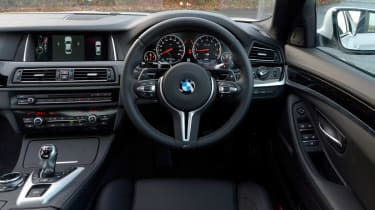 BMW M5 Competition Pack steering wheel