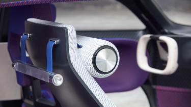 Citroen 19_19 Concept - front seat detail