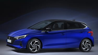 New Hyundai i20 2020 leaked pictures side