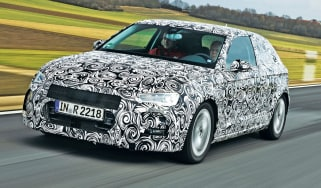 New Audi A3 front tracking