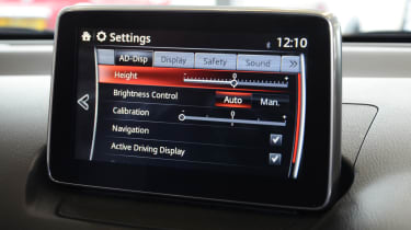 Mazda 2 Sport Nav long term test - display