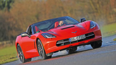 <strong>Dean Gibson, Deputy road test editor</strong>  <em><b>Corvette Stingray</b> &nbsp;</em>  <span>As a fan of American muscle, I found the chance to drive the latest Corvette Stingray in the UK at the start of the year too goo