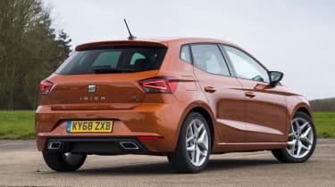 Seat Ibiza FR- rear stationary