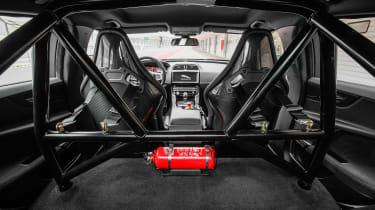 Jaguar XE SV Project 8 - cabin