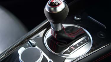 Audi TT RS - gear lever