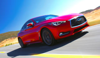 Infiniti Q60 - front tracking