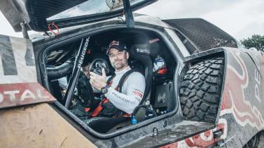 Peugeot Sport - Sebastian Loeb dakar interior