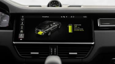 Porsche Cayenne Turbo S E-Hybrid - infotainment