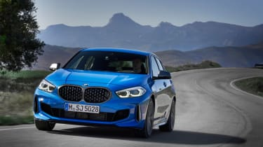New BMW M135i 2019 1 Series driving
