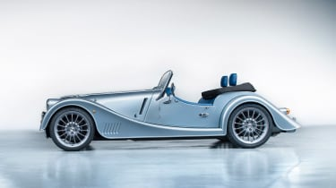 Morgan Plus Six - side grey