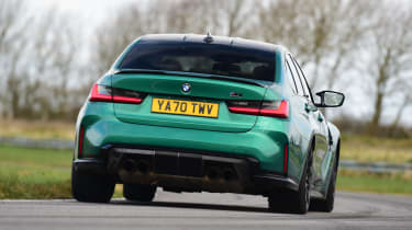 BMW M3 Competition - rear cornering