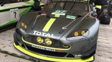 Aston Martin GTE Le Mans car - Goodwood front