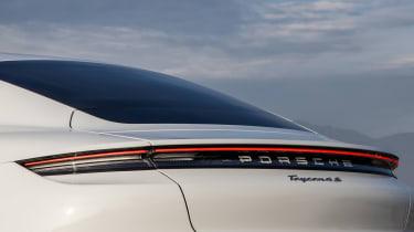 Porsche Taycan 4S - rear detail
