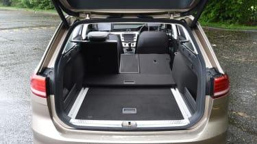 Long-term test review Volkswagen Passat Estate - boot open