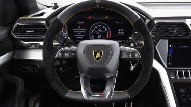 Lamborghini Urus - studio steering wheel