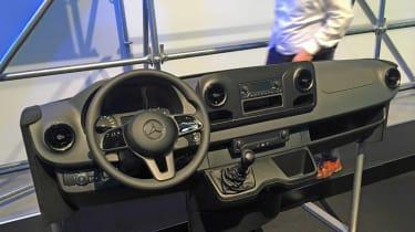 New Mercedes Sprinter - dash display