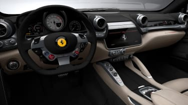 Ferrari GTC4 Lusso - dashboard