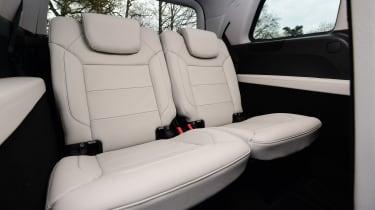 Mercedes GLS 350d AMG 2016 - rearmost seats