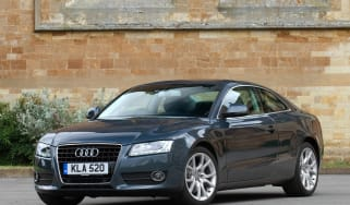 Used Audi A5 Coupe - front