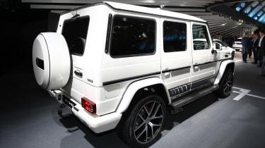 Frankfurt - Mercedes-AMG G wagon - rear