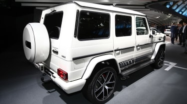 Frankfurt - Mercedes-AMG G wagon - rear
